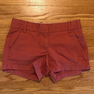 J. Crew Shorts - J. Crew Rose Chino Shorts